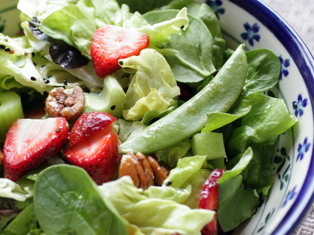 Southern Strawberry Salad