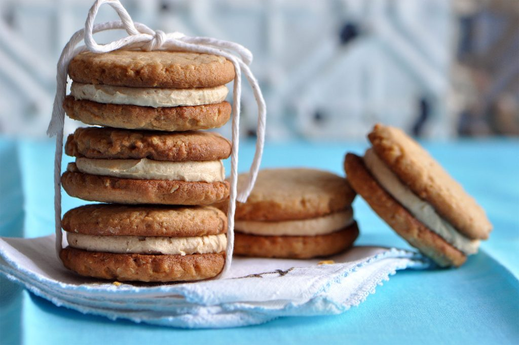 The Ultimate Peanut Butter Sandwich Cookies