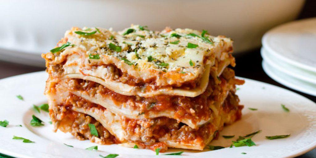 Quick Sausage and Mushroom Lasagna